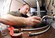 plumber ta work