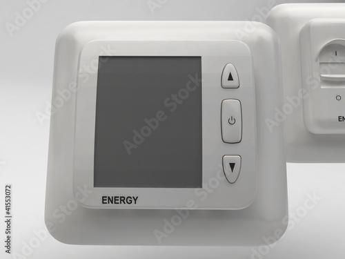 Domotica riscaldamento interruttore componente elettrico
