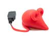 souris rouge informatique
