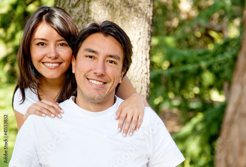 Family portrait - brother and sister.Family portrait - brother a