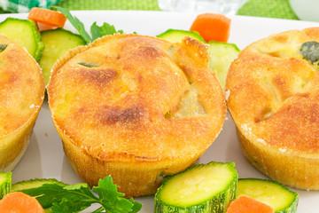 vegetable soufflé