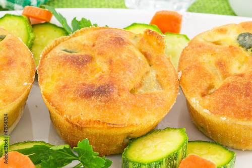 vegetable soufflé