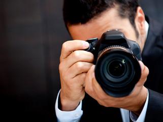 Male paparazzi