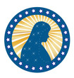Our Lady of Fatima Virgen Mary seal
