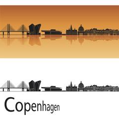 Copenhagen skyline