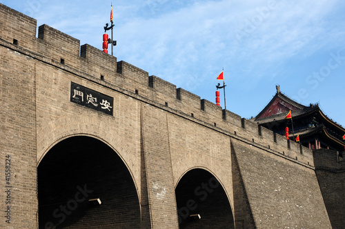 City wall of Xian