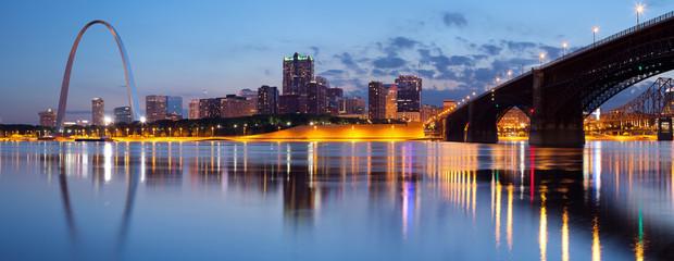 City of St. Louis skyline. © rudi1976