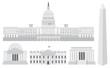 Washington DC Capitol Buildings and Memorials - 41561464