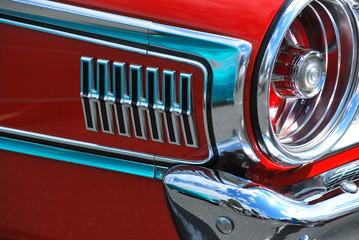Classic vintage car.