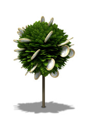 Stylized Money Tree