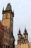 Urban scenic of Prague poster
