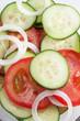 Mixed salad, close up