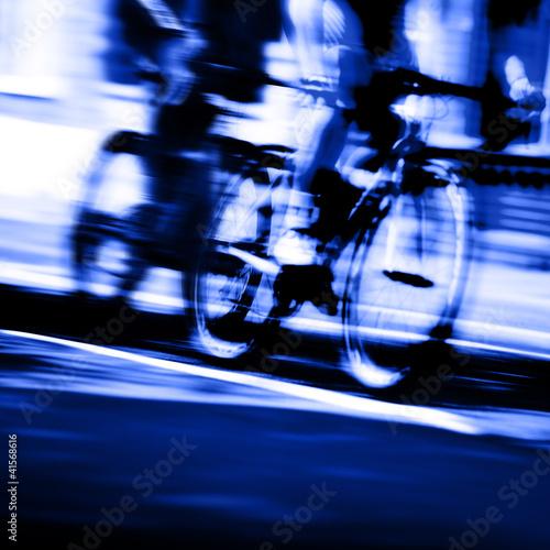 cyclist blur