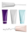 beauty hygiene cream tube cosmetics