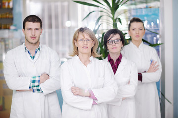 pharmacy drugstore people team