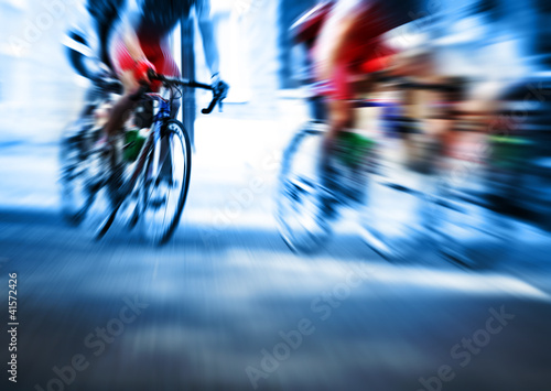 action blur cycle race