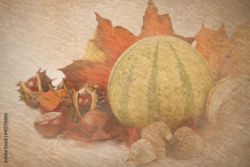 autumnal decoration