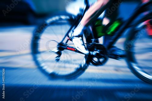 cyclist pedal motion