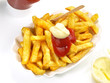 Pommes Frites - Rot / Weiss
