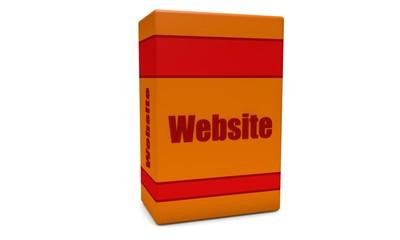 Orange Website box