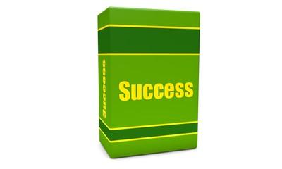 Green success box