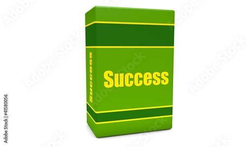 Green success box