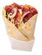 Shawarma sandwich.
