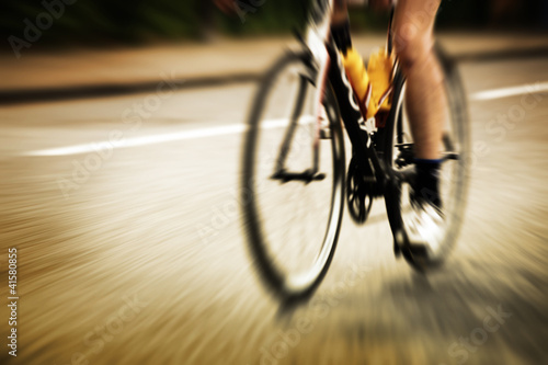 road cyclist motion blur