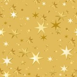 Stars Pattern - Repetitive Illustration poster