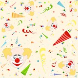 Happy Birthday Pattern - Repetitive Illustration poster
