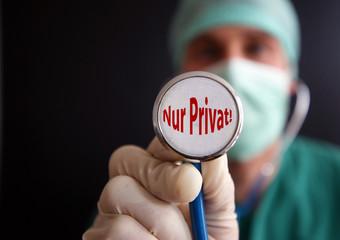 Nur Privatpatienten!