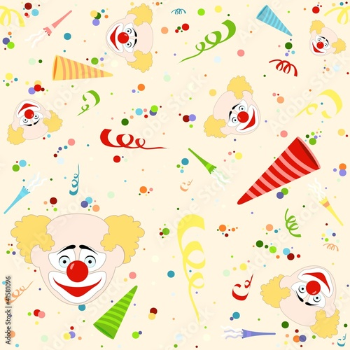 Happy Birthday Pattern - Repetitive Illustration