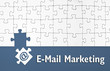 Puzzle mit E-Mail Marketing