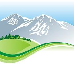 mountain template