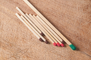 Greater, long match and small matches