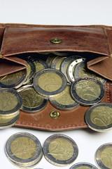 Euro Geldbeutel