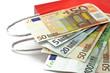 euro auf tragtasche