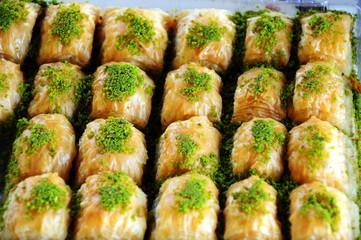 Turkish dessert, baklava