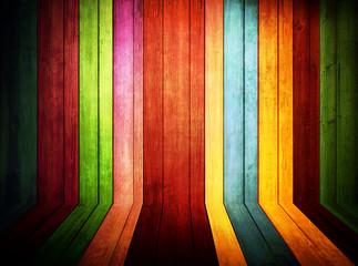 Legno colorato, texture