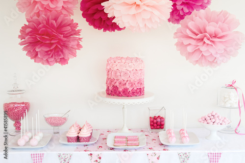 Keuken foto achterwand Buffet, Bar Dessert table