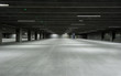 Leinwandbild Motiv Empty Garage
