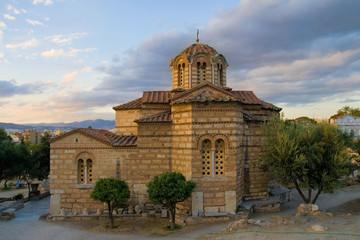 Byzantine church in Athens