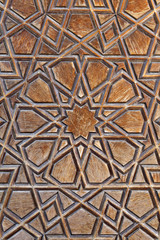 Door pattern, Selimiye Mosque, Edirne, Turkey