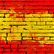 Spanish Brick Wall Background