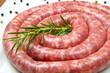 salsiccia con rosmarino e pepe in grani
