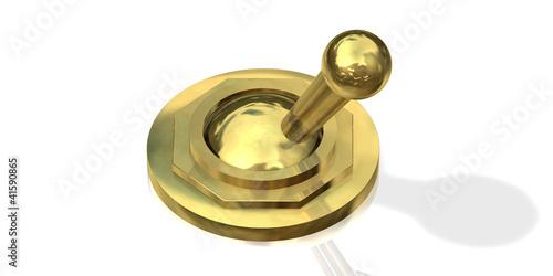 Kippschalter Gold