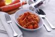 Spaghetti all'astice Spaghetti with lobster