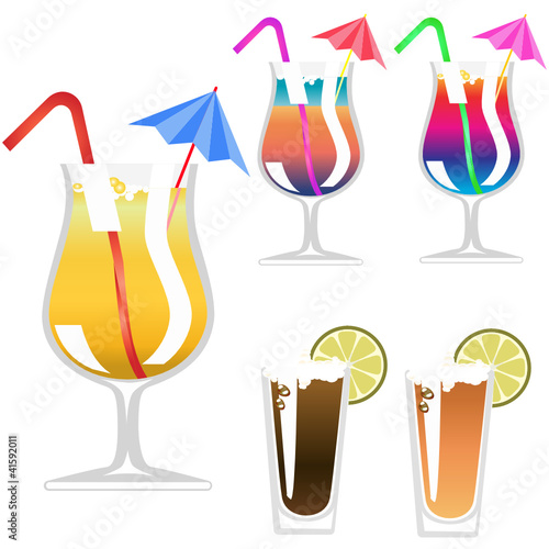 Vector Cocktail Glass