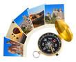 Cappadocia Turkey images and compass