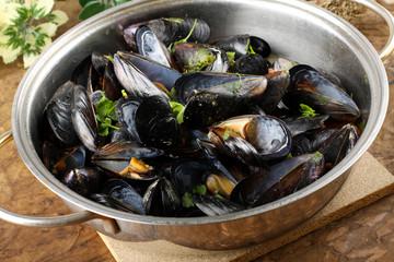Mussel soup